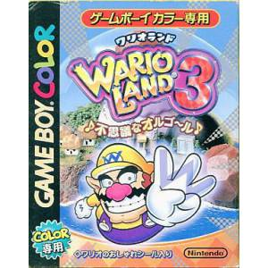 Wario Land 3 - Fushigi na Orgel [GBC - Used Good Condition]