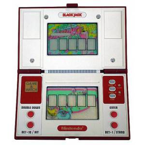 Black Jack - Multi Screen BJ-60 - used / no box [Game & Watch]