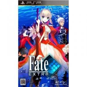 Fate Extra - standard edition + flyer [PSP]