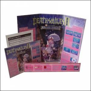 Death Smiles II Instruction Card Full Set