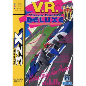 Virtua Racing Deluxe [32X - Used Good Condition]
