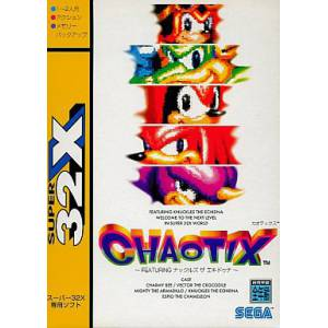 Chaotix / Knuckles Chaotix [32X - Used Good Condition]