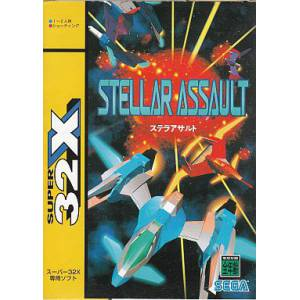 Stellar Assault [32X - Used Good Condition]