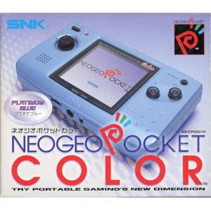 Neo Geo Pocket Color Platinum Blue [Used]