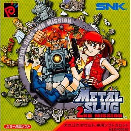Metal Slug 2nd Mission [NGPC - Used Good Condition]