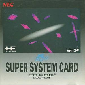 Super System Card CD-Rom ver. 3.0 [PCE CD - used good condition]