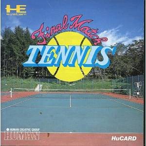 Final Match Tennis [PCE - used good condition]