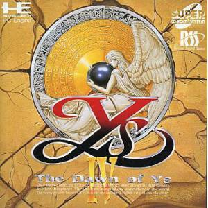 Ys IV - The Dawn of Ys [PCE SCD - used good condition]