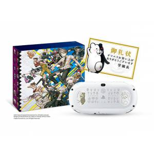 PlayStation Vita Dangan Ronpa 1-2  White Limited Edition [new]