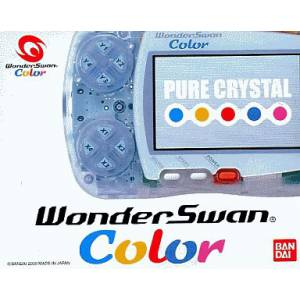 WonderSwan Color Pure Crystal Complète [Occasion BE]