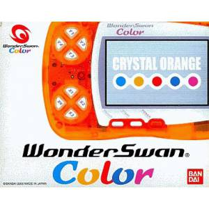 WonderSwan Color Crystal Orange Complète [Occasion BE]