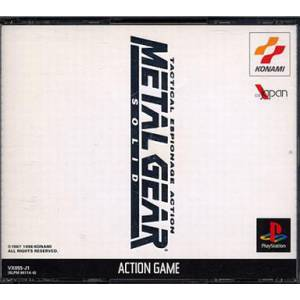 Metal Gear Solid [PS1 - Used Good Condition]