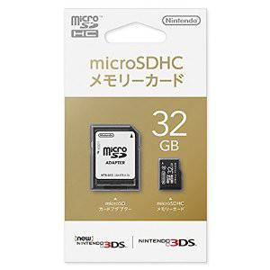 Nintendo Micro SDHC Memory Card 32GB [New 3DS]