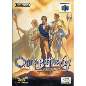 Ogre Battle 64 - Person of Lordly Caliber [N64 - used good condition]