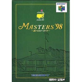 Masters '98 - Harukanaru Augusta [N64 - used good condition]