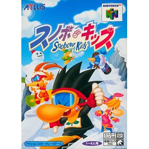 Snobow Kids / Snowboard Kids [N64 - used good condition]