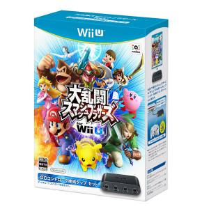 Super Smash Bros. avec Gamecube Controller adaptor Set [Wii U]