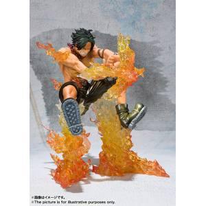 One Piece - Port Gas · D · Ace - Battle Ver Jujika (Special Color Edition) [Figuarts Zero]