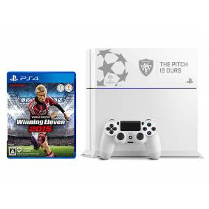 PlayStation 4 Glacier White - World Soccer Winning Eleven 2015  UEFA CHAMPIONS LEAGUE Limited EDITION [PS4 - brand new]