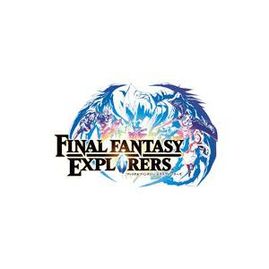 Final Fantasy Explorer's Official Complete Guide [GuideBook / Artbook]