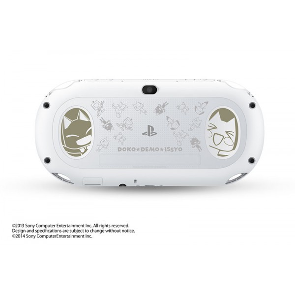 playstation vita doko demo issyo limited edition white. Black Bedroom Furniture Sets. Home Design Ideas