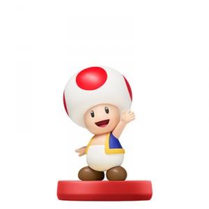 Amiibo Toad / Kinopio - Super Mario series Ver. [Wii U]
