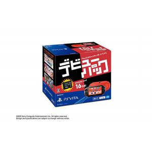 PSVita Slim Debut Pack - Red & Black [new]