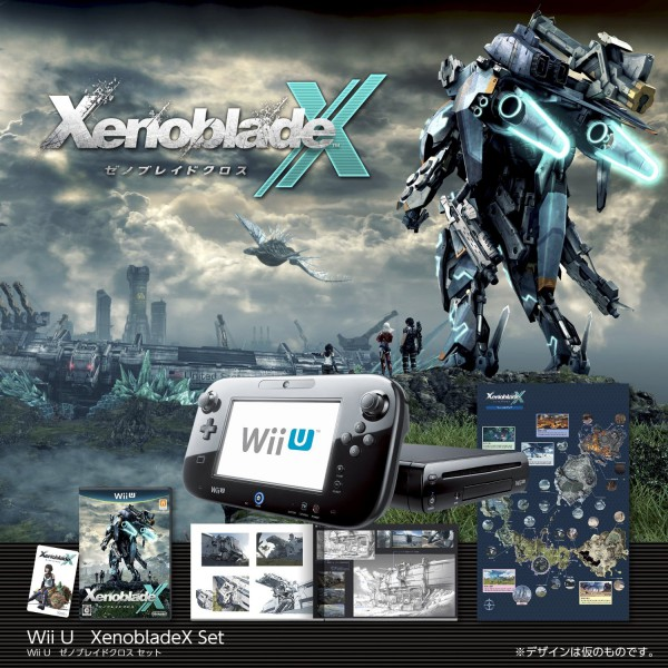 Buy wii u black premium xenoblade chronicles x limited bundle set display all pictures gumiabroncs Image collections