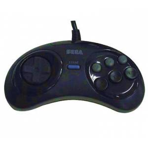 Fighting Pad - 6 buttons controller [MD - Used Good Condition]