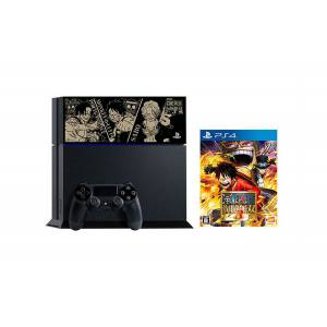 PlayStation 4 Jet Black - One Piece Kaizoku Musou 3 Limited EDITION [PS4 - brand new]