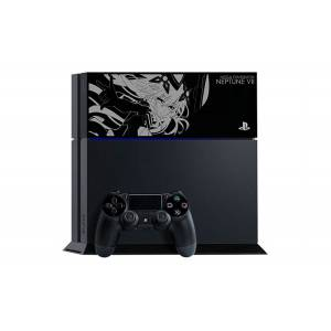 PlayStation 4 Jet Black Mega Dimension Neptune VII Purple Limited EDITION [PS4 - brand new]