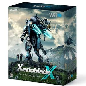 Wii U Black Premium Xenoblade Chronicles X Limited Bundle Set [Brand New]