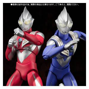 Ultraman Tiga - Sky Type & Power Type (Limited Edition) [Ultra-Act]