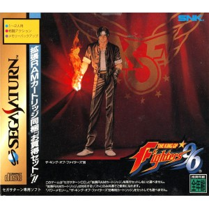 The King of Fighters '96 + RAM Pack [SAT - Used Good Condition]