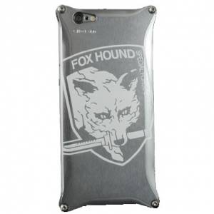 GILD design × METAL GEAR SOLID V iPhone 6 Case & Protection Sheet (Fox Hounds Ver.) [Goods]