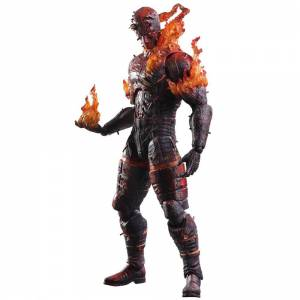 Metal Gear Solid V: The Phantom Pain - Burning Man [Play Arts Kai]