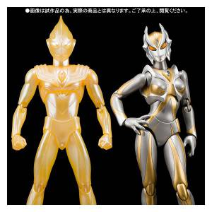 Ultraman Tiga: The Final Odyssey - Glitter Tiga & Camilla - Limited Edition [Ultra Act]