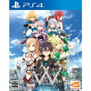 FREE SHIPPING - Sword Art Online - Game Director's Edition [PS4]