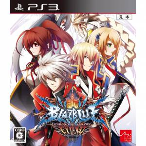 BlazBlue Chronophantasma Extend [PS3 - Used Good Condition]