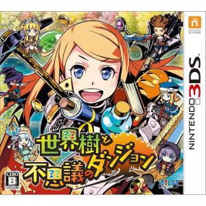 Sekaiju To Fushigi no Dungeon / Etrian Odyssey Mystery Dungeon [3DS-Occasion]