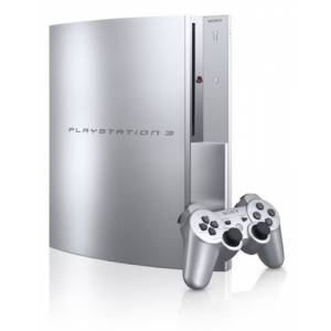PlayStation 3 80GB Satin Silver [New]