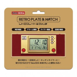 Cover Plates - Retro Plate & Watch [New 3DS]