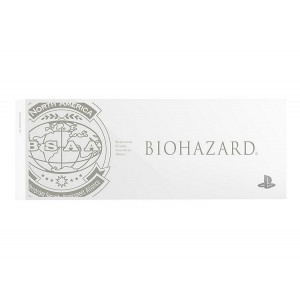 FACEPLATE / HDD BAY COVER PS4 Glacier White - Resident Evil / Biohazard BSAA Ver. (white) [PS4 - Brand New]