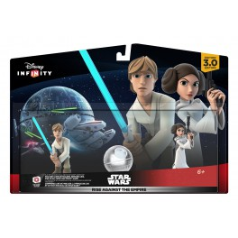 Disney Infinity 3.0 - Star Wars Rise Against The Empire Luke & Leia Play set pack [PS4/PS3/WiiU]