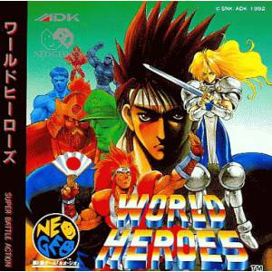 World Heroes [NG CD - Used Good Condition]