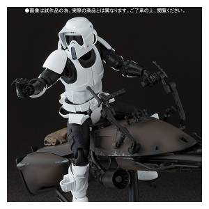 Star Wars - Scout Trooper & Speeder Bike - Limited Edition [SH Figuarts]