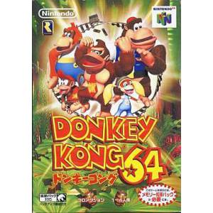 Donkey Kong 64 [N64 - used good condition]