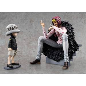 One Piece POP / Portrait Of Pirates - Corazon & Law Limited Edition [Megahouse]