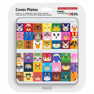Cover Plates - No. 68 Animal Crossing [New 3DS]