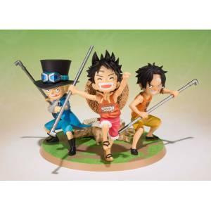 One piece - Luffy, Ace, Sabo - Gikyoudai no Yakusoku [Figuarts ZERO]